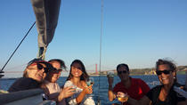 Exquisite wine & cheese tasting in a Sailing Yacht, Lisbon, Food Tours