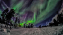 Northern Lights Snowmobile Driving Safari, Rovaniemi, 4WD, ATV & Off-Road Tours