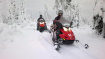 Snowmobile Safari in the Forest, Lapland, 4WD, ATV & Off-Road Tours