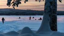 Snowshoe Trip for Ice Fishing from Kemi, Lapland, Fishing Charters & Tours
