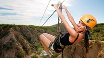 Los Cabos Zipline and Sunset Party Cruise Combo Tour, Los Cabos, Ziplines