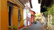 Walking tour of the Latin Quarters including tile painting in Goa, Goa, Private Sightseeing Tours