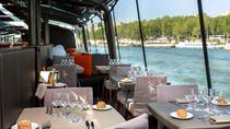 Boottocht over de rivier de Seine in Bateaux Parisiens met lunch en livemuziek, Parijs, Lunch-cruises