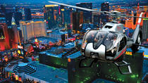 Helikoptertur over Las Vegas Strip om kvelden med transport, Las Vegas, Helicopter Tours