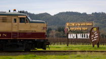 Napa Valley Wine Train with Gourmet Lunch, Wine Tasting and Vineyard Tours, Napa & Sonoma