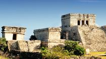 Combo Tour: Tulum Ruins Early Access Tour Plus Rio Secreto Nature Reserve from Playa del Carmen, ...