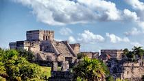 Private Combo Tour: Early Access to Tulum with an Archaeologist and Xel-Há or Xcaret from Tulum, ...