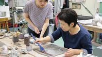 Ceramic Plate Creating Workshop in Saitama, Tokyo, Craft Classes