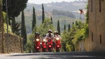 Full-Day Chianti Tour by Vespa Scooter from San Gimignano, San Gimignano, Vespa, Scooter & Moped ...