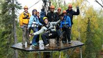 Talkeetna Zipline Adventure from Anchorage, Anchorage, Air Tours