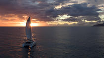 Private Oahu Sunset Charter with Dinner and Drinks Included, Oahu, Day Cruises