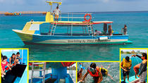 VIP Glass Bottom Boat & Snorkeling, 3 Reefs in Cozumel, Cozumel, Glass Bottom Boat Tours