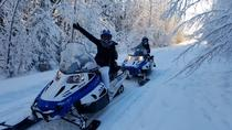 Snowmobile Adventure from North Pole, Fairbanks, Night Tours
