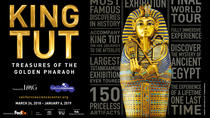 King Tut: Treasures of the Golden Pharaoh at the California Science Center, Los Angeles, null