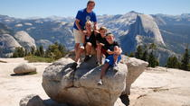 Family Hike in Yosemite, Yosemite National Park