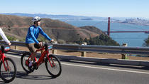 Fiets over de Golden Gate Bridge: San Francisco naar Sausalito, San Francisco