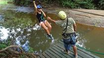 Rain Forest Canopy Tour from Tamarindo: Zipline, Hanging Bridge