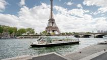 Kryssning med sightseeing på floden Seine i Paris med hop-on-hop-off, Paris, Hoppa ...