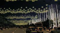 Medellin Christmas lights by scooter, Medellín, Christmas