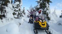 Snowmobile tour to Shunut Mountain, Urals, 4WD, ATV & Off-Road Tours