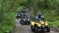 Tour in ATV alle cascate di Zhigalan, Urals, 4WD, ATV & Off-Road Tours