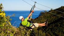 Catalina Island Zipline Eco-Tour from Anaheim or Los Angeles , Los Angeles, Ziplines