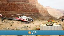 Viator VIP: Grand Canyon Sunset Helicopter Tour with Dinner, Las Vegas, Air Tours