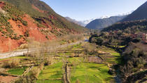 Atlas Mountains and 4 Valleys Guided Day Tour from Marrakech including Lunch in Berber House,...