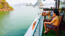 2-Day Halong Bay Luxury Junk Boat Cruise Including Cooking Class and Morning Tai Chi, Hanoi, ...