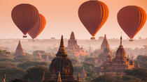 Balloon Tour over Bagan with Breakfast and Sparkling Wine, Bagan