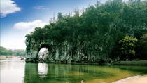 Half-Day Tour of Iconic Karst Mountains Reed Flute Cave Fubo Hill and Elephant Hill Park by Bus, ...