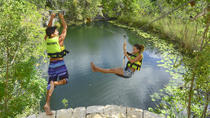 Xenotes: Adventure Tour at Mayan Cenotes, Cancun, Snorkeling