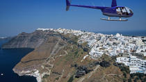 Santorini Helicopter Flight, Santorini, Private Sightseeing Tours