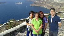 Santorini Shore Excursion: Private Tour with Photo Stops on the Fira to Oia Hiking Trail, ...