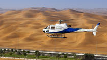 5-Hour Small Group Dubai Helicopter City and Desert Tour with Gourmet Breakfast, Dubai, Helicopter ...