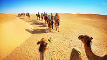 Desert Experience: Camel Safari with Dinner and Emirati Activities from Dubai, Dubai, null
