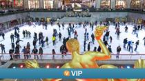 Viator VIP: Rockefeller Center Ice Skating Experience and Top of the Rock Observation Deck, ニューヨーク市