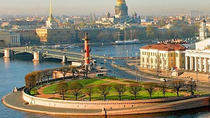 1 day St-Petersburg private shore excursion with Hermitage museum and boat ride, St Petersburg, ...