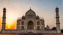 Private Day Trip By Train : Taj Mahal, Agra Fort & Mehtab Bagh, Agra, Private Day Trips