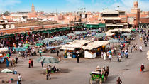 Marrakech Guided Day Trip from Casablanca: Djemaa el-Fna Square and Bahia Palace, Casablanca, Day ...