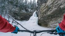 Fatbike Frozen Waterfall Tour, Calgary, Bike & Mountain Bike Tours