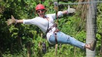 Small Group 4-Hour Shared Zip Line Adventure Tour with Hotel Pickup and Drop-off, Punta Cana, ...