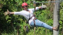 Small Group 4-Hour Zip Line Adventure Tour, Punta Cana, Ziplines