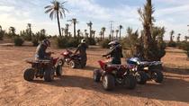 Half Day Tour Quad In Palm Golve , Desert ,Marrakech, Marrakech, Day Trips