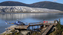 Taku Glacier by Helicopter and Airboat from Juneau, Juneau, Helicopter Tours