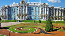 Tour of Pushkin Catherine Palace and Peterhof Grand Palace (Visas Included), St Petersburg, Ports ...