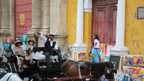 Horse-Drawn Carriage and Romantic Dinner Cruise, Cartagena, Food Tours