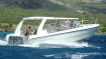 Blue Room and Beach Tour of Curacao by Speedboat , Curacao, Jet Boats & Speed Boats