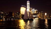 New York City Skyline Lights Sail to the Statue of Liberty, New York City, Bike & Mountain Bike ...