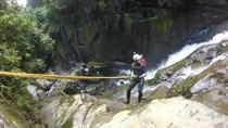 Canyoning at Usina River Twilight Pool, Paraty, Climbing